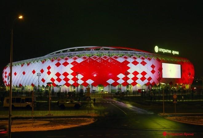 стадион спартак открытие арена